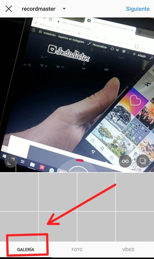Cómo subir vídeos a Instagram 1